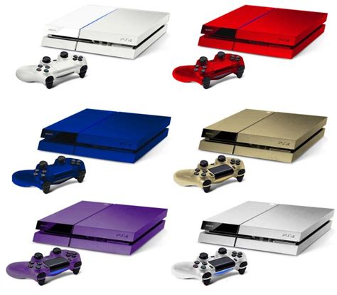 what the playstation 4 would look like in different colors