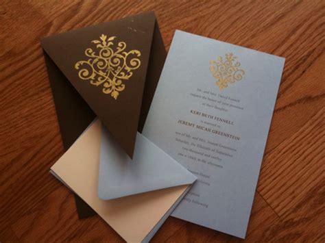 rubber sted cards diy embossing wedding invitations wedding invitation ideas