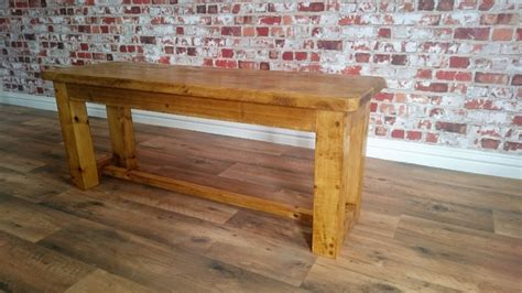 rustic pine dining bench rustic pine dining bench made from reclaimed wood