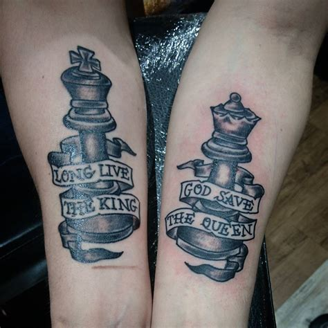 king and queen chess piece tattoos 100 best king designs from instagram