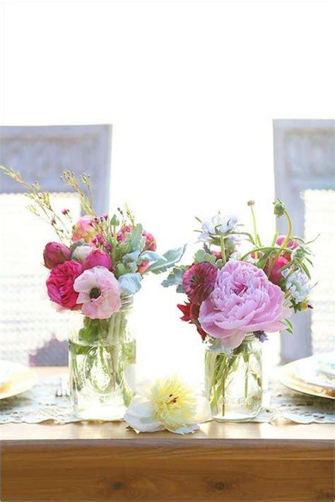 Hochzeit Blumendeko Tisch by Vintage Tischdeko Zur Hochzeit 100 Faszinierende Ideen