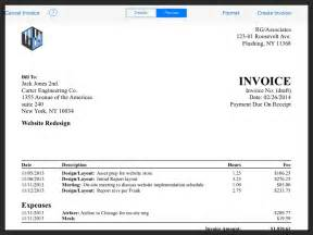 best photos of sample invoice for professional services