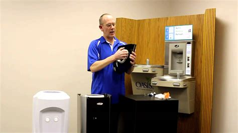 sanitize water cooler bottle cleaning santizing your oasis water cooler