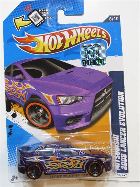 Promo Hotwheels Mitsubishi 2008 Lancer Evolution Murah hw 2012 biditwinit09 classic colections