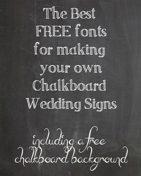 chalkboard diy fonts 1000 ideas about letter fonts on