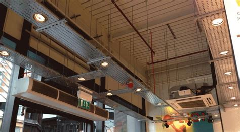 exposed services cable ducting google search ceiling