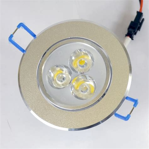 3 watt led downlight ceiling light 35w 50w halogen