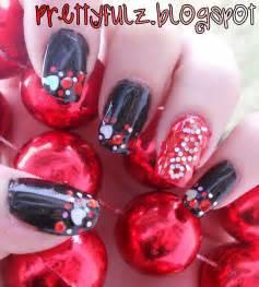 prettyfulz valentine s day nail design xoxo