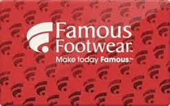Famous Footwear Gift Card - famous footwear gift card gift ftempo