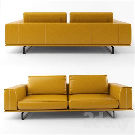 3d Models Sofa Natuzzi Tempo 2834 Sofa
