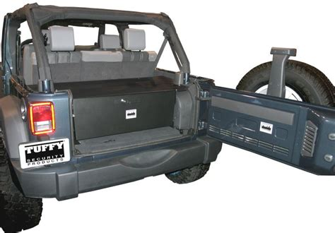 tuffy security console for 2007 jeep wrangler jk