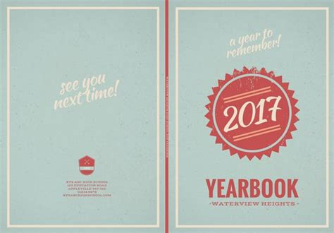 canva yearbook retro yearbook cover templates by canva