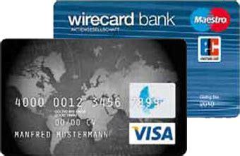 wirecard bank ag dateneingabe gb girokontoeroeffnung konto ohne schufa