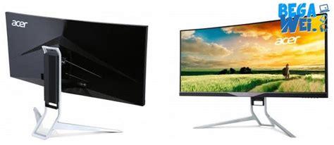 Monitor Khusus Gaming nge lebih asyik dengan monitor lengkung ala acer