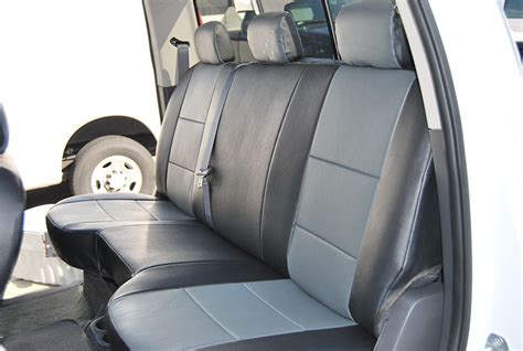 2003 dodge ram 1500 leather seat covers dodge ram 1500 2500 3500 2003 2012 iggee s leather custom