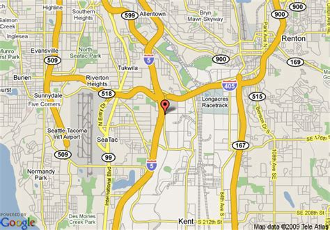 southcenter mall map map of doubletree guest suites seattle southcenter seattle