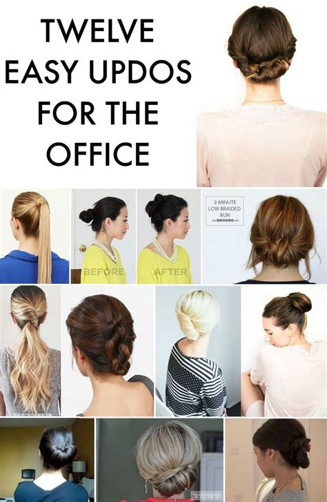 25 best ideas about office hairstyles on