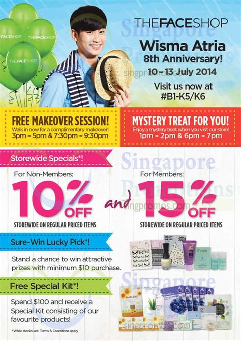 wisma atria new year promotion the shop 10 storewide promo wisma atria 11