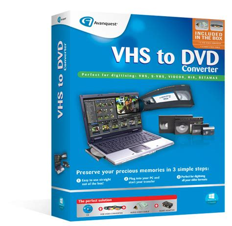 cassette to dvd converter vhs 2 dvd converter preserve precious memories in just 3
