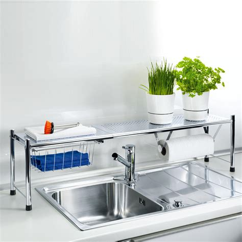 shelf kitchen sink buy extendable sink shelf 3 year product guarantee