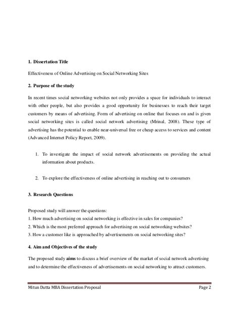 Mba Dissertation Template by Mba Thesis Pdf 28 Images Mba Dissertation Motivation