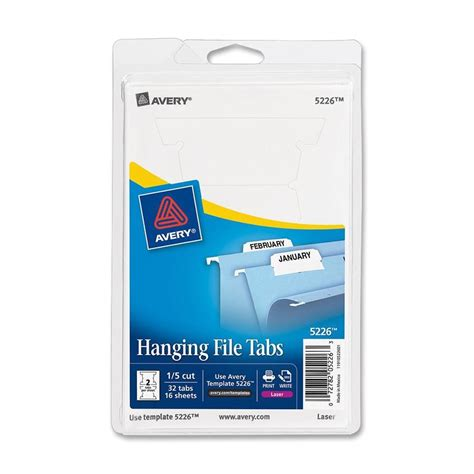 avery printable hanging file tab ld products