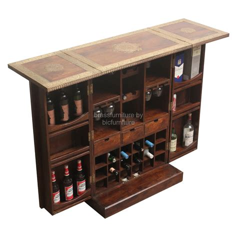 Furniture: Bar Cabinets With White Ceramic Floor And Small