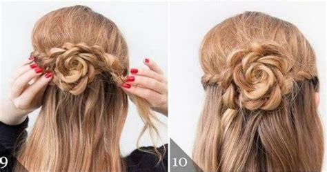 semirecogidos faciles para hacer en casa peinados f 225 ciles y cabello semi recogido con trenzas