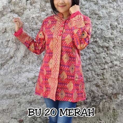 Gucci Blouse Atasan blus blouse batik cantik kerja murah grosir atasan kemeja