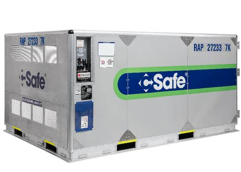 agency approval   csafe rap active container opens eu market air cargo world