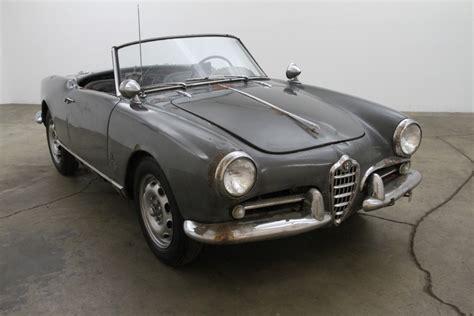 1959 alfa romeo giulietta spider 1959 alfa romeo giulietta spider beverly car club