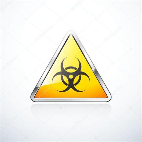 imagenes de simbolos biologicos signo de tri 225 ngulo naranja con s 237 mbolo de riesgo biol 243 gico