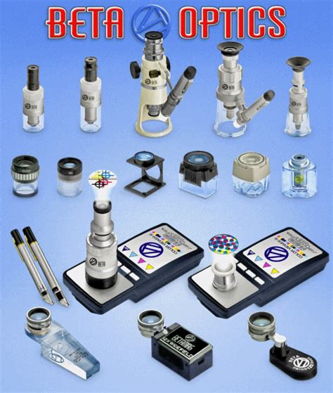 betamag 12x with light magnifiers loupes and microscopes from beta industries