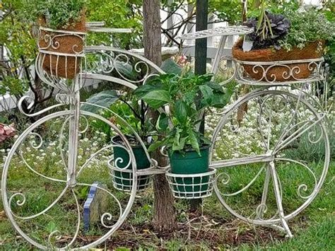 garden decoration cycle 14 creative ideas of garden decorations made from upcycled