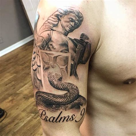 angel tattoo placement 95 best saint michael tattoos designs meanings 2018
