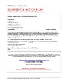 Emergency Plan Template by Emergency Plan Template Cyberuse