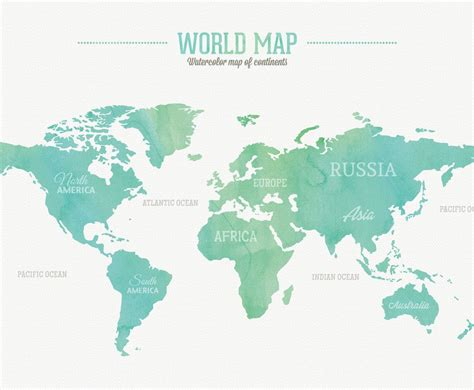 printable world map with country names free picture