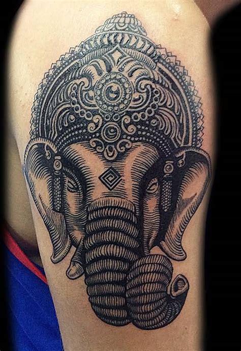 tattoo name ganesh 8 shoulder ganesha tattoos