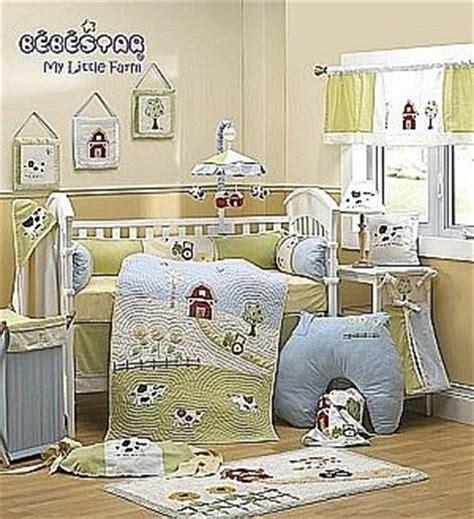 bebestar farm 4 baby crib bedding set