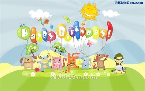 birthday wallpaper with cartoon birthday cartoons cliparts co