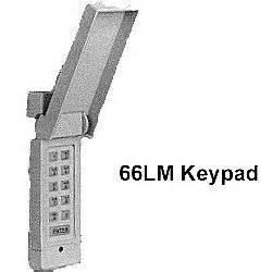 Liftmaster Garage Door Opener Remote Keypad Chamberlain Liftmaster Wireless Keyless 66lm Garage Door
