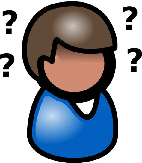 person thinking clipart thinking clip at clker vector clip