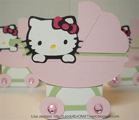 imagenes de kitty baby tarjetas para baby shower de hello kitty tarjetas para