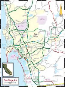 Maps Of San Diego by San Diego Detailed Map
