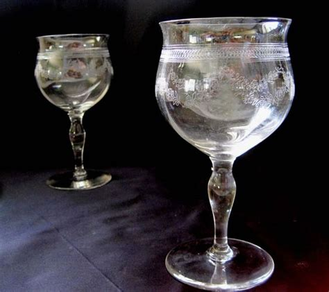 lead crystal barware shape antique glassware and cocktails on pinterest