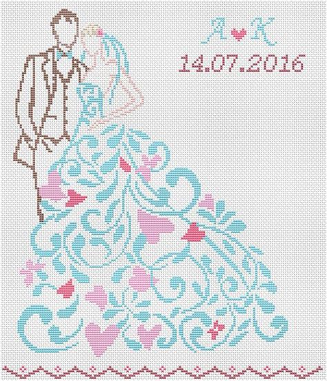 download pattern wedding the 25 best ideas about wedding cross stitch on pinterest