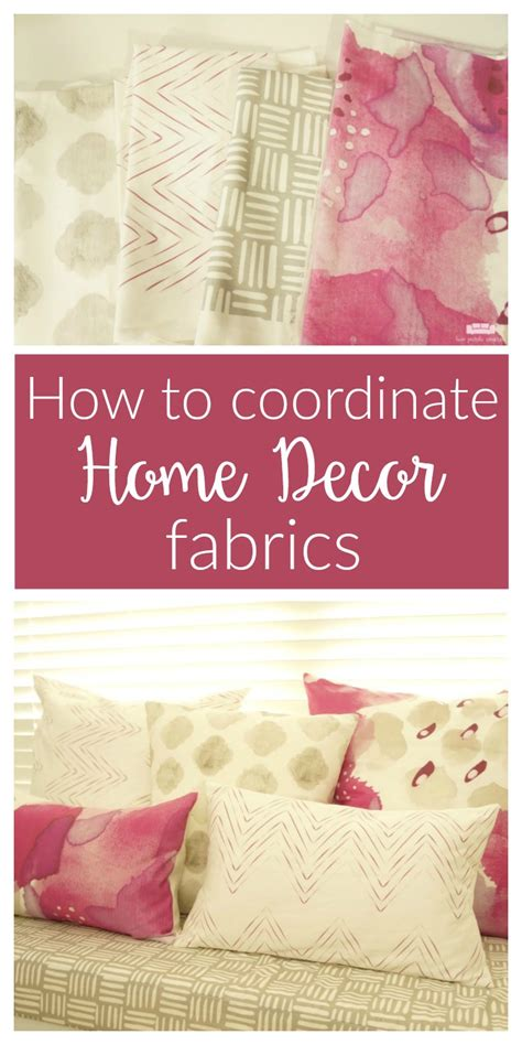 how to choose coordinating home decor fabrics two purple