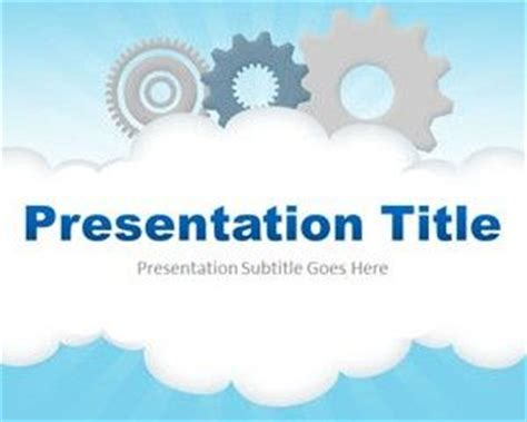 Best Technology Powerpoint Templates Slidehunter Free Cloud Template For Powerpoint