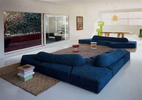 divani rotondi moderni i salotti moderni pratici funzionali dal design