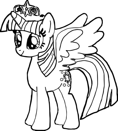 twilight sparkle coloring page new princess twilight sparkle coloring page